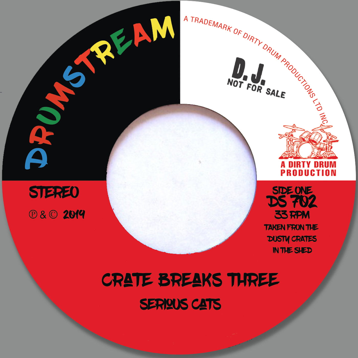 Serious Cats 'Crate Breaks Vol.2' 7""