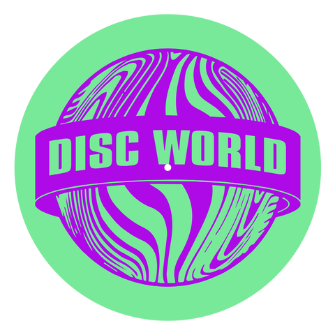 Disc World 'Purple on Green' Slipmats