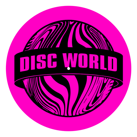 Disc World 'Magenta' Slipmat
