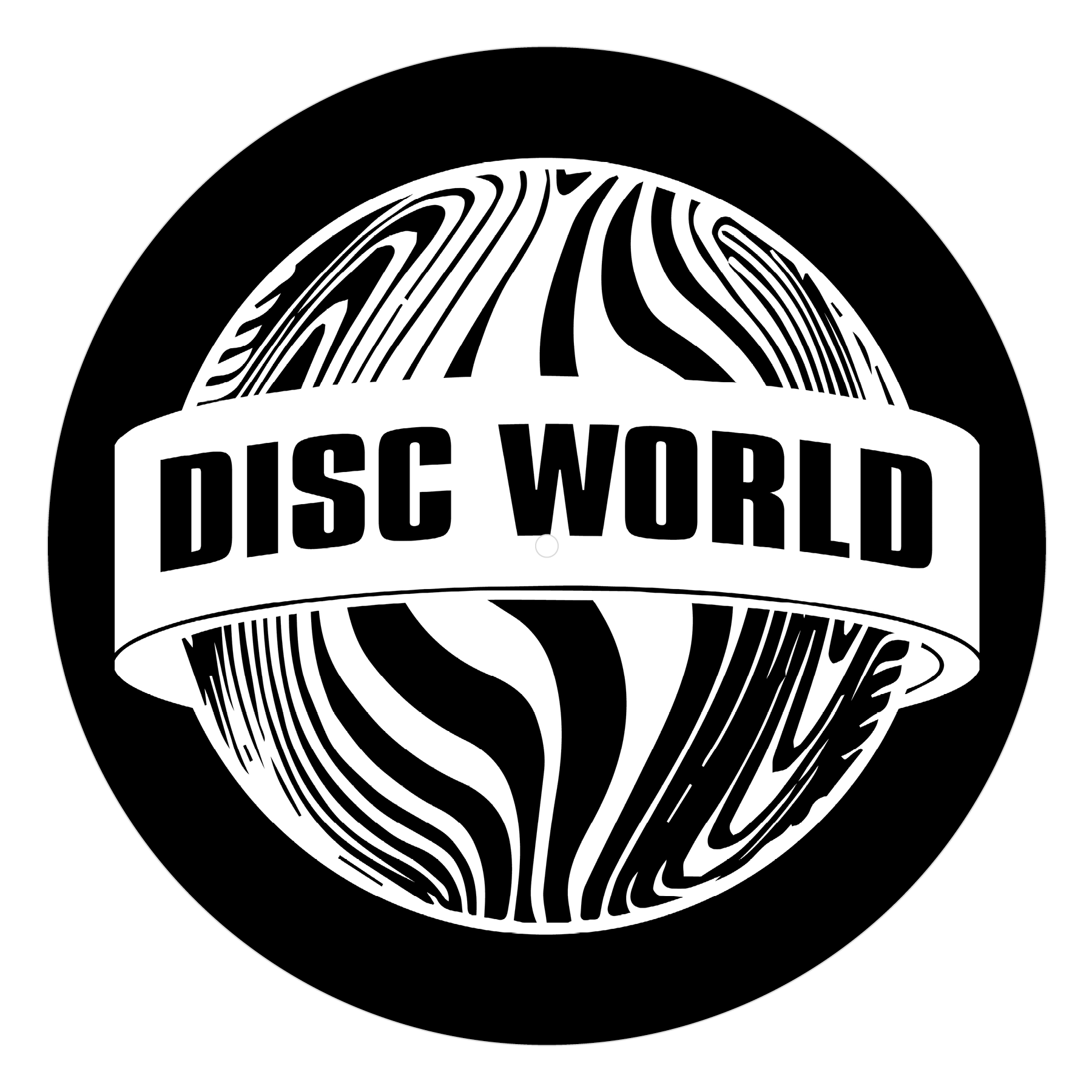 Disc World 'Black' Slipmat