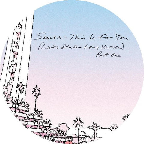 Scuba 'This Is For You (Luke Slater Long Version)' 12""