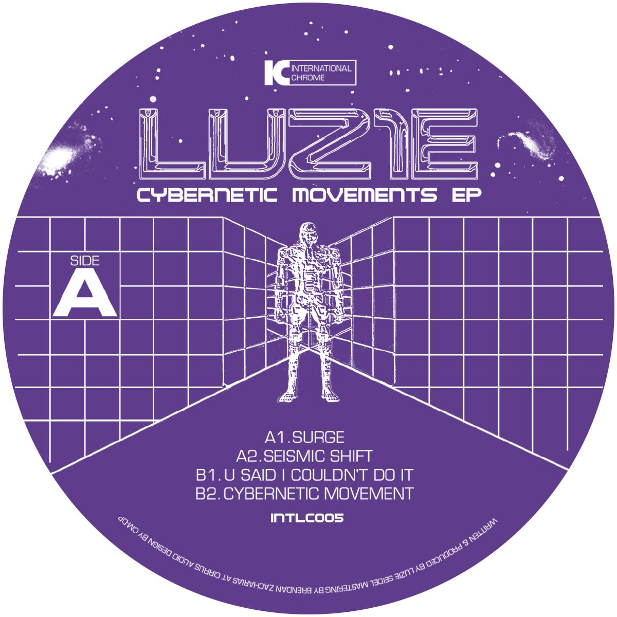 *PRE-ORDER* Luz1e 'Cybernetic Movements EP' [stickered sleeve]