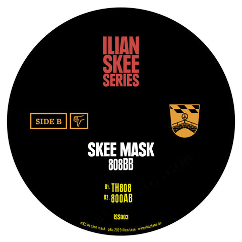 "Skee Mask '808BB'12"" (REPRESS)"
