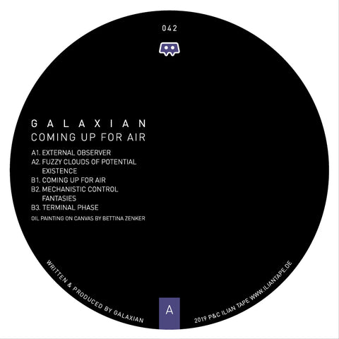 Galaxian 'Coming Up For Air' 12""