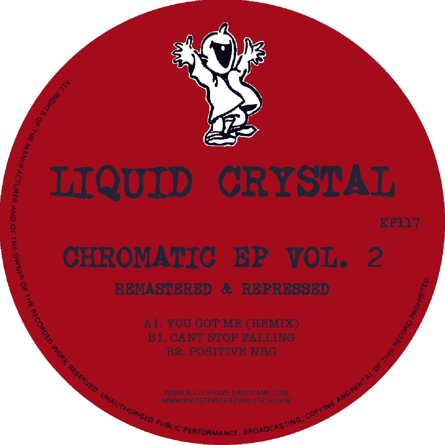 Liquid Crystal 'Chromatic EP Vol. 2 Remastered' 12""