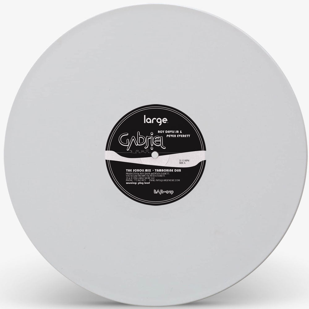 Roy Davis Jr 'Gabriel (White Vinyl Repress)' 12""