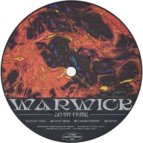*PRE-ORDER* Warwick 'Do My Thing EP' 12""