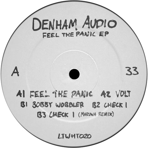 *PRE-ORDER* Denham Audio 'Feel The Panic EP' 12""