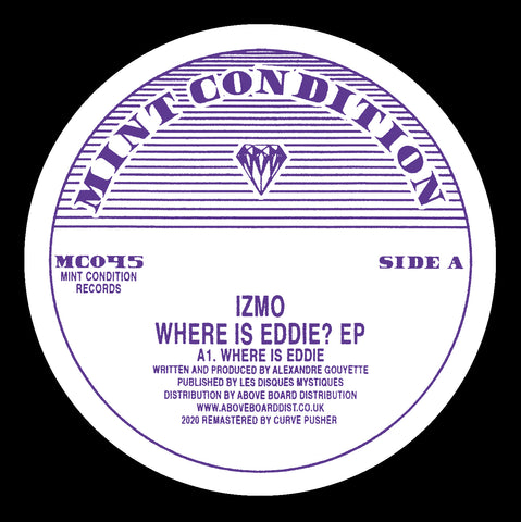 Izmo 'Where Is Eddie? EP' 12""