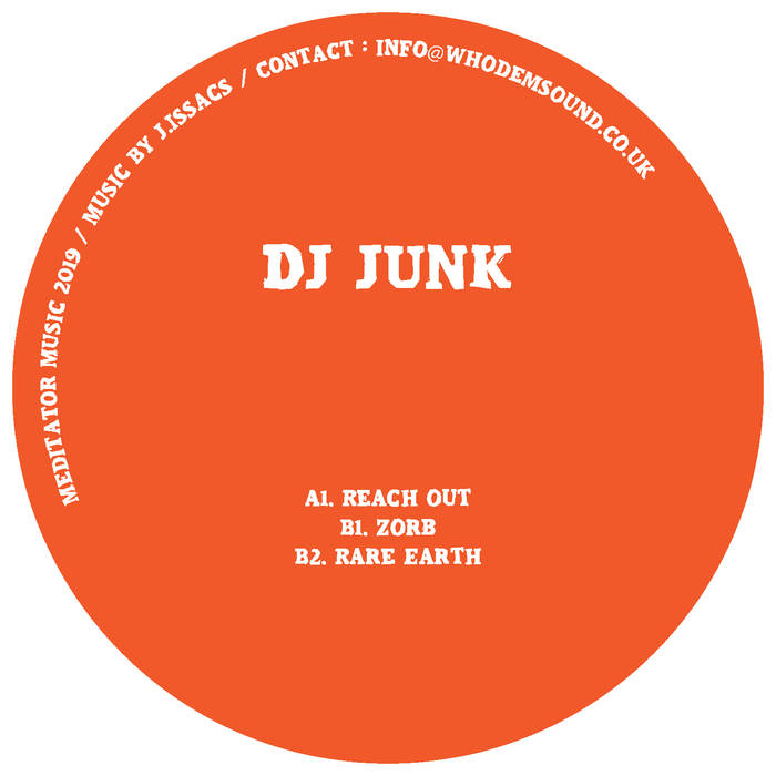 DJ Junk ‎'Rare Earth (1992-1995)' EP