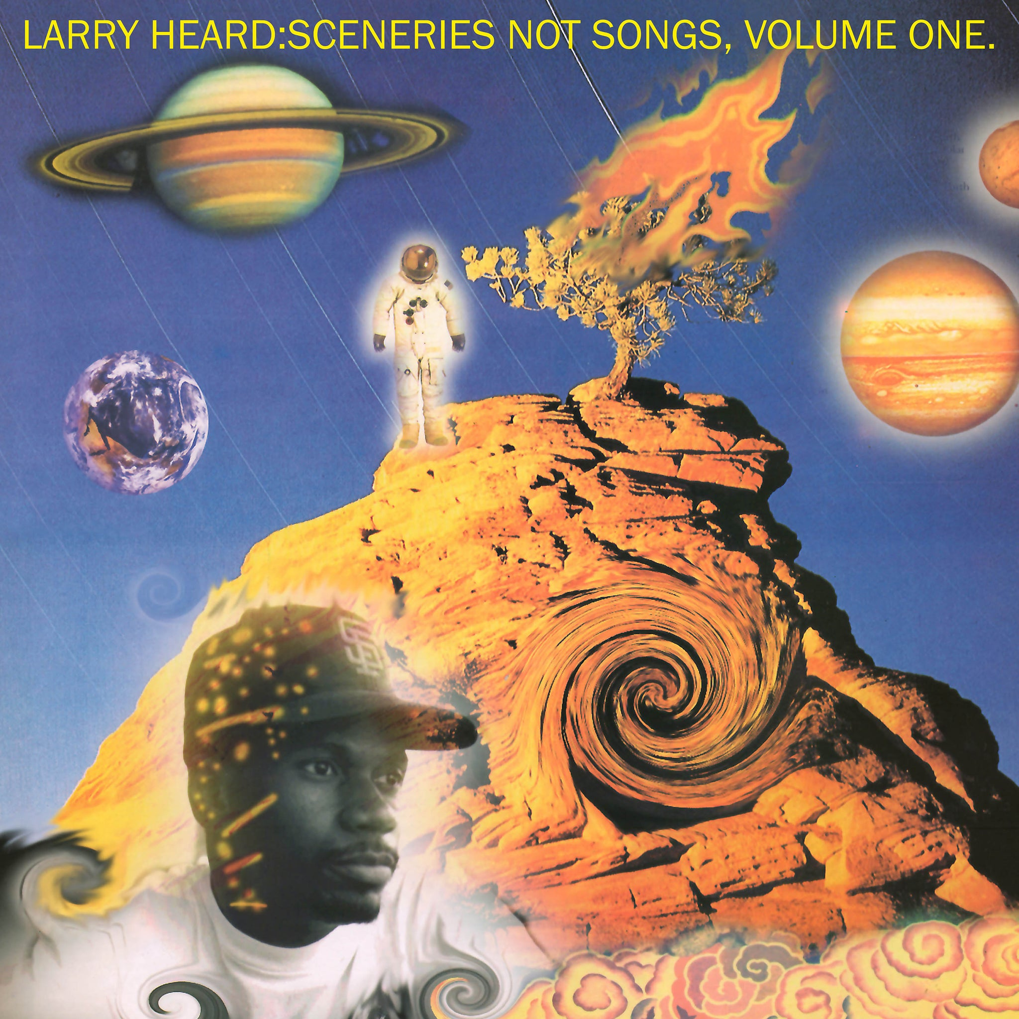 "Larry Heard 'Sceneries Not Songs, Volume 1' 2x12"" [Import]"