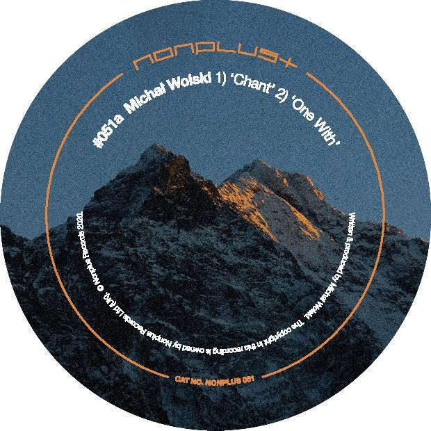 Michal Wolski 'Chant (Inc. Anthony Linell Remix)' 12""