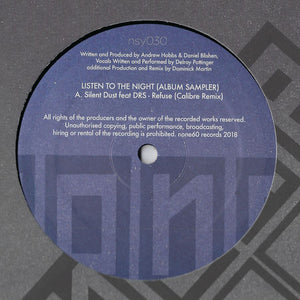 Silent Dust / Calibre 'Listen To The Night - Sampler' 12""