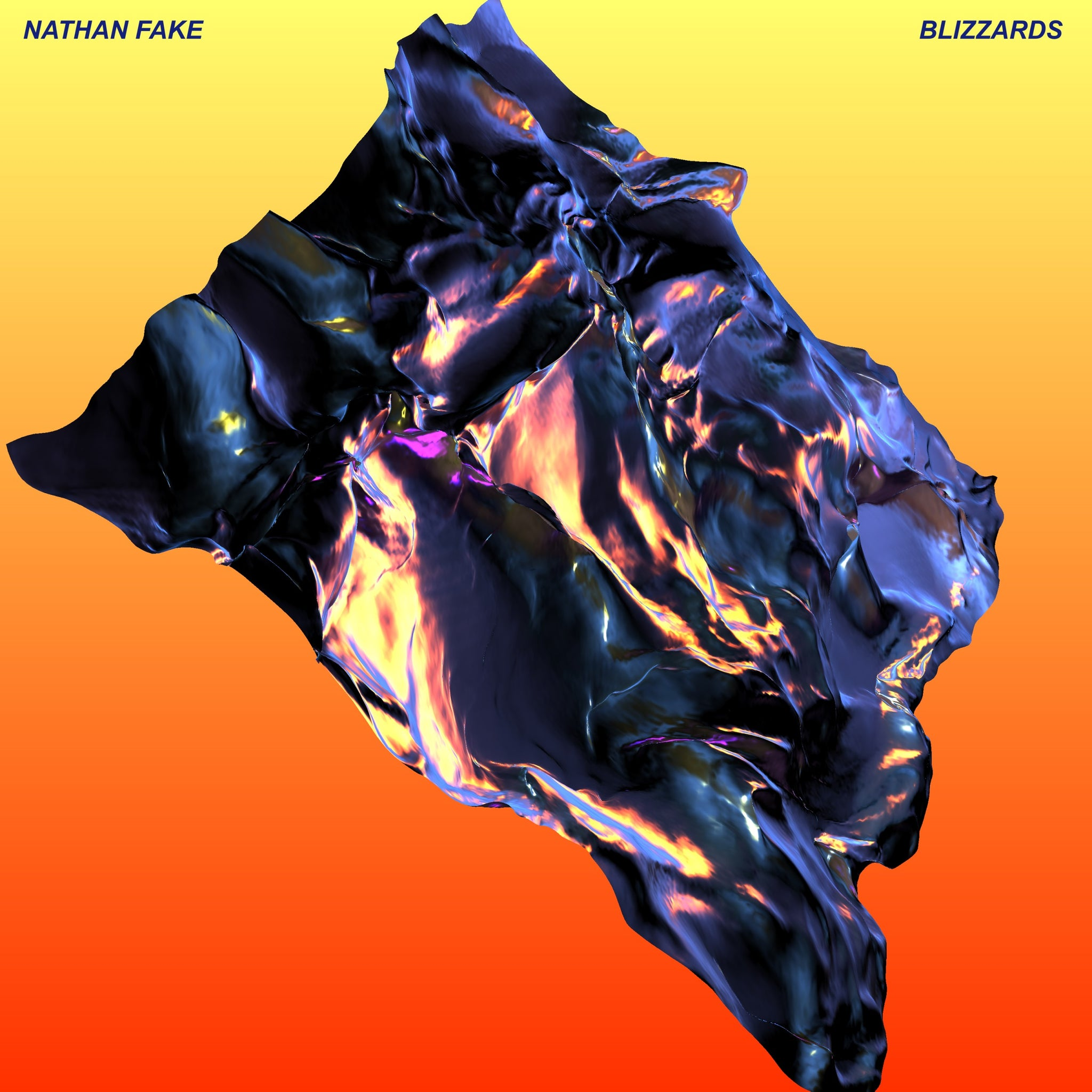 Nathan Fake 'Blizzards' 2LP