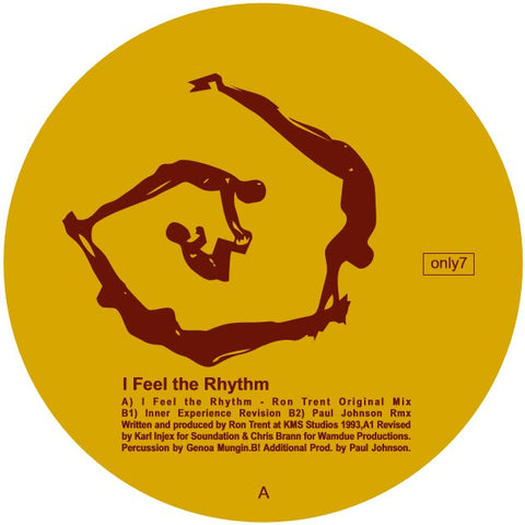 *PRE-ORDER* Ron Trent 'I Feel The Rhythm' 12""