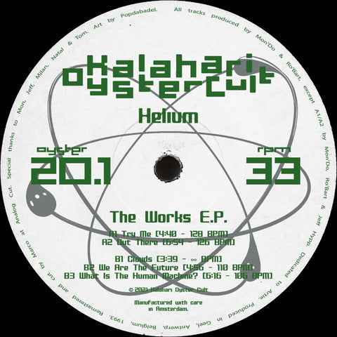 "*PRE-ORDER* Helium 'The Work E.P.' 12"" (Reissue) [Import]"