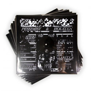 Pessimist & Holsten 'The Riot Tune EP (Inc Clarity Version)' 12""