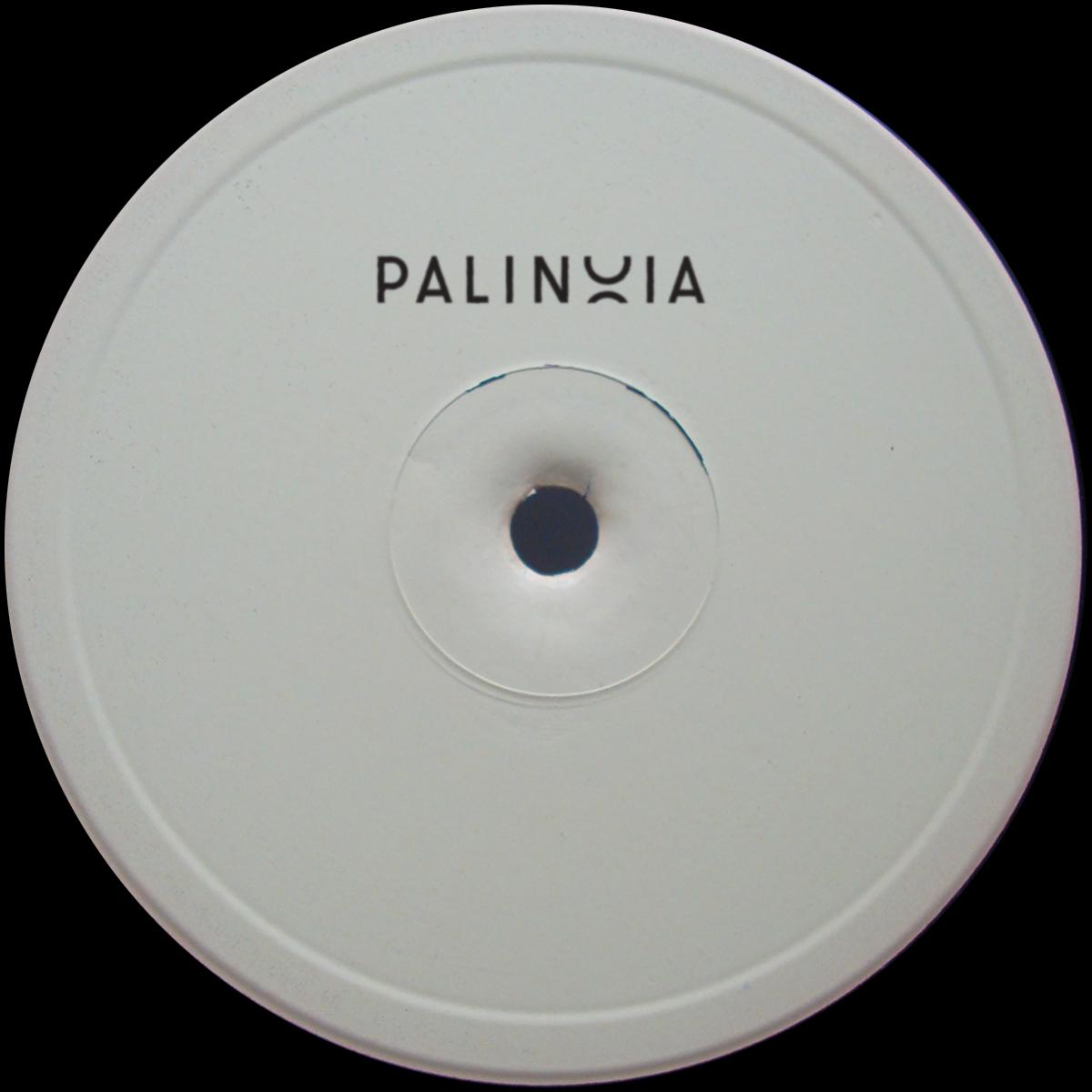 "Donato Dozzy / Eric Cloutier 'Palinoia LTD 001' [hand-stamped 12""]"