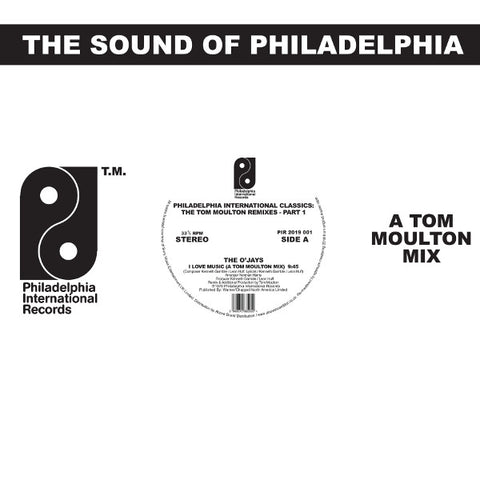 Various Artists 'Philadelphia International Classics - The Tom Moulton Remixes : Part 1' 2x12""