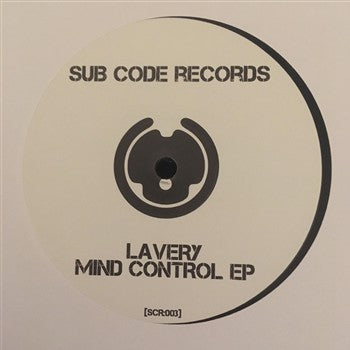 Lavery ‎'Mind Control EP' 12""