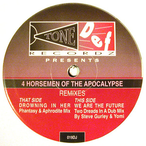 4 Horsemen 'Drowning In Her / We Are The Future (Remixes Pt. 2)' 10""