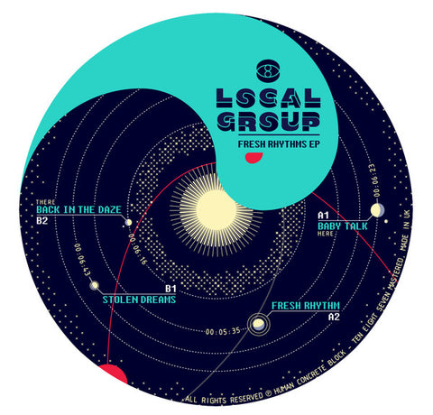 Local Group 'Fresh Rhythms EP' 12""