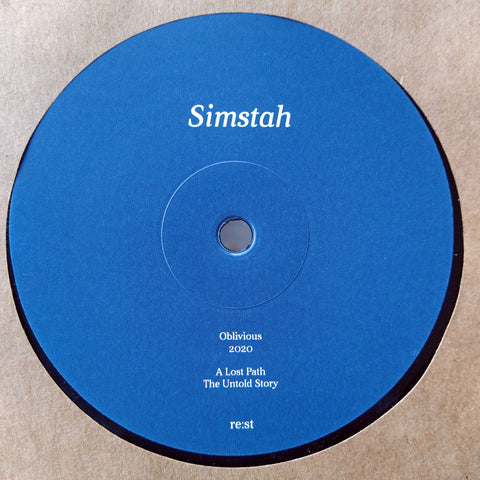 Simstah 'A Lost Path' 12''