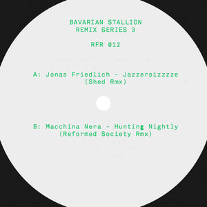 Various 'Bavarian Stallion Remix Series 3' 12""