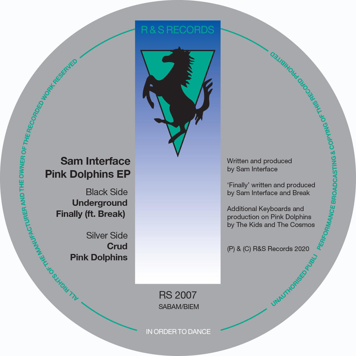 Sam Interface 'Pink Dolphins EP' 12""