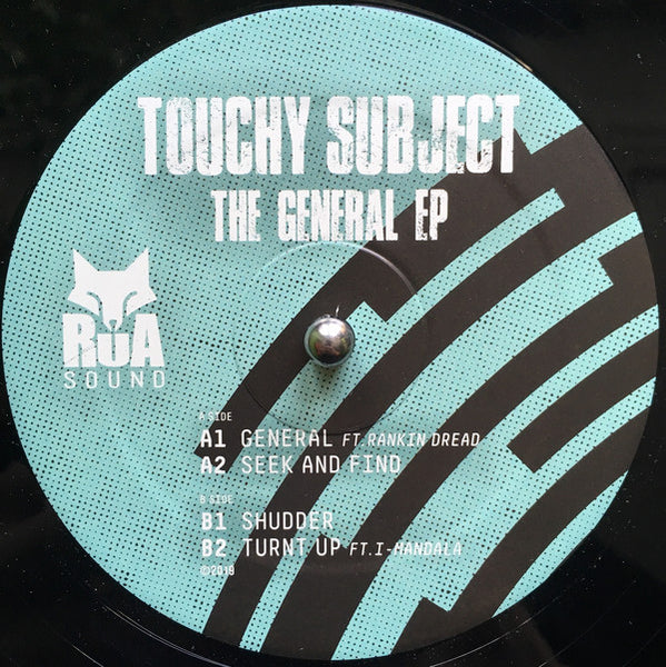 Touchy Subject ‎'The General EP' 12""