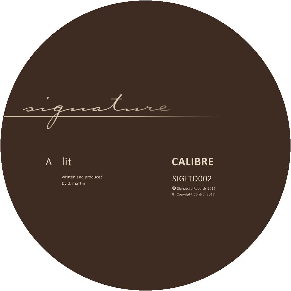 Calibre 'Lit / Gentle Push'12""