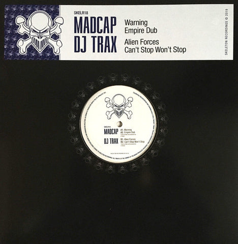 Madcap & DJ Trax 'Warning/Empire Dub' 12""