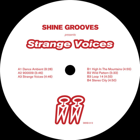 Shine Grooves 'Strange Voices EP' 12""