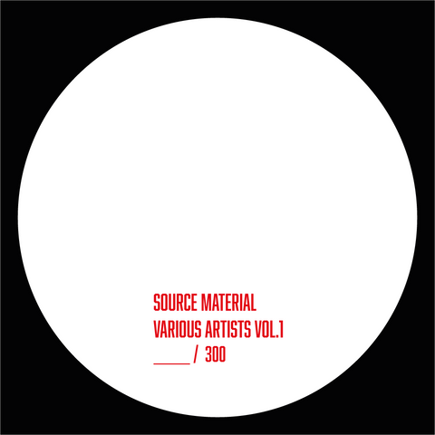 Various 'Source Material - Vol. 1' 12""