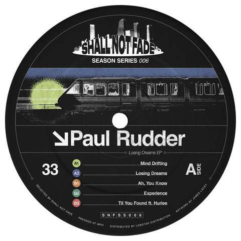 *PRE-ORDER* Paul Rudder 'Losing Dreams EP' 12""