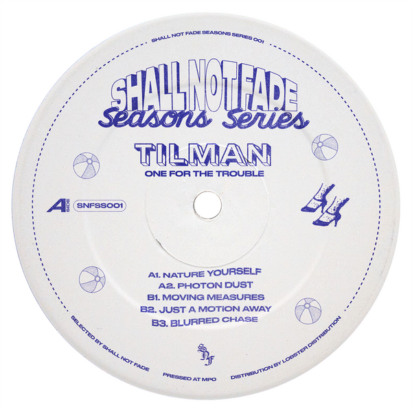 Tilman 'One For The Trouble EP' 12""