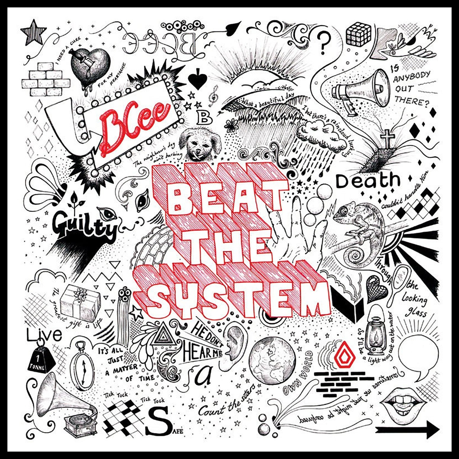 "BCee 'Beat The System LP (10th Anniversary Edition)' 2x12"" (Reissue)"