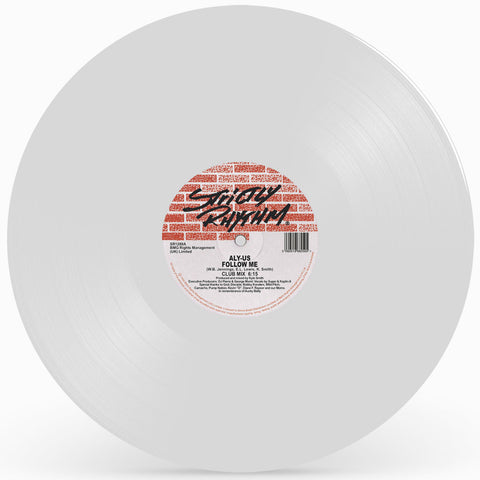 ALY-US 'Follow Me (White Vinyl Repress)' 12""
