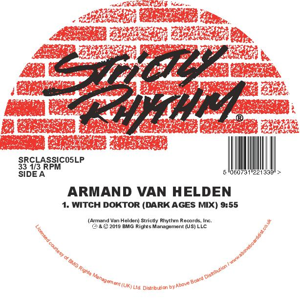 Armand Van Helden 'Witch Doktor (Inc. Illyus & Barrientos / Serge Santiago Remixes)' 12""