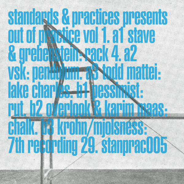 Various 'Out of Practice Vol. 1' 12""