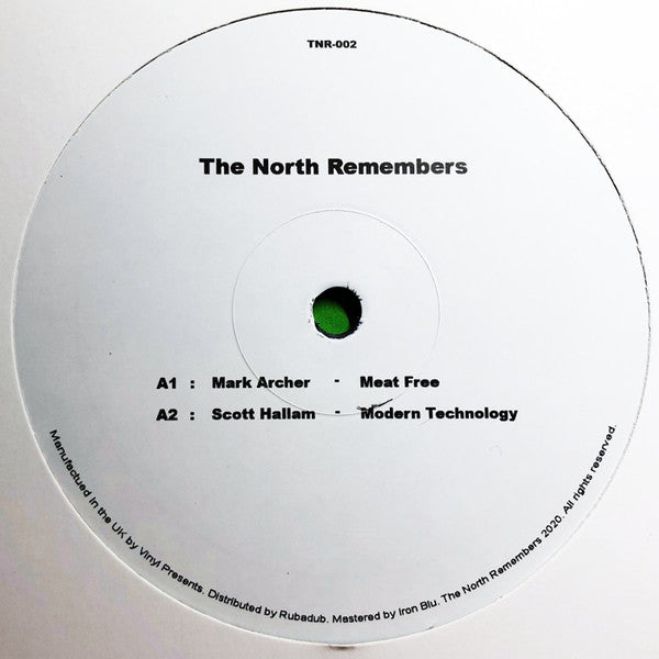 Mark Archer / Scott Hallam 'The North Remembers 002' (The North Remembers) 12""
