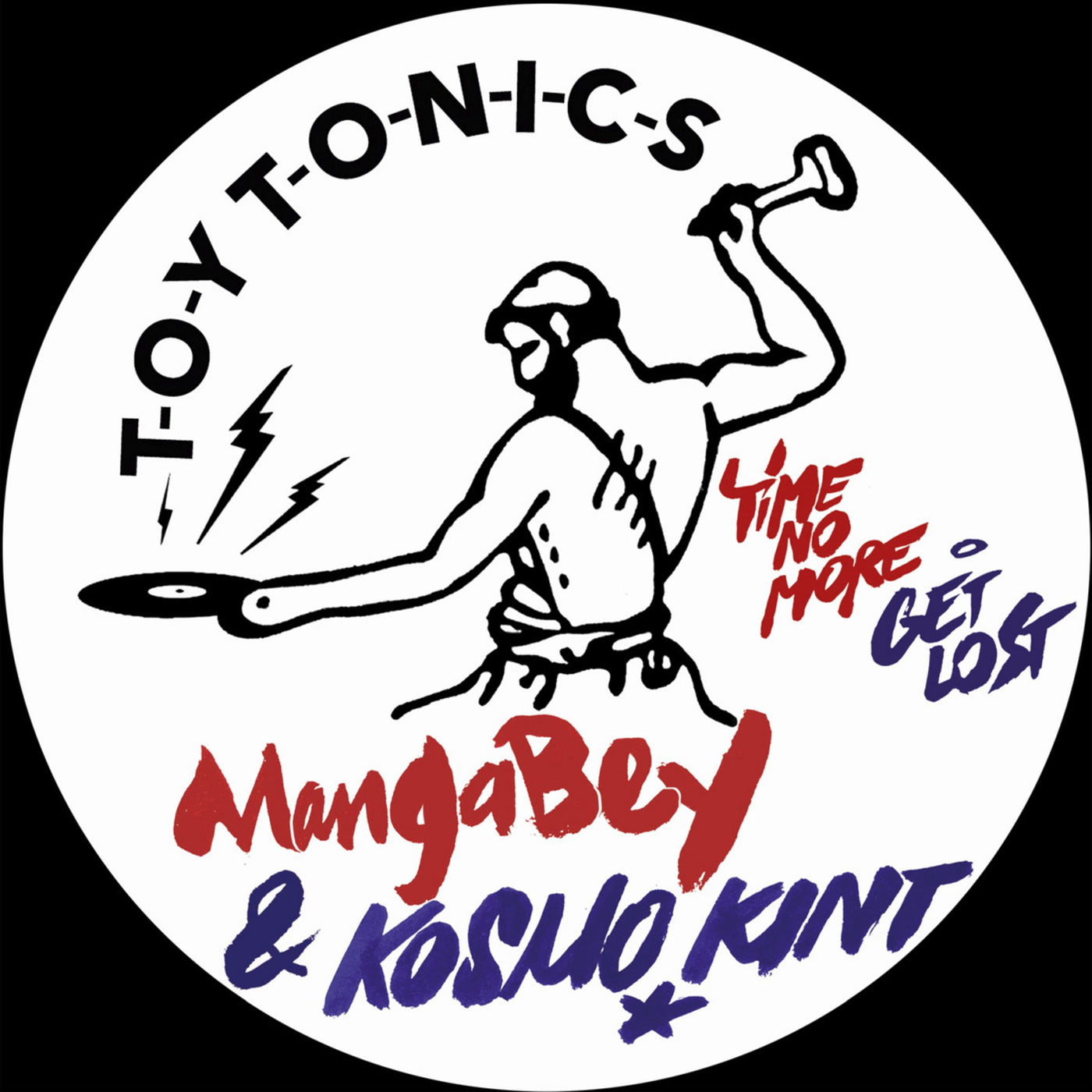 Mangabey & Kosmo Kint ‎'Time No More / Get Lost' 12""