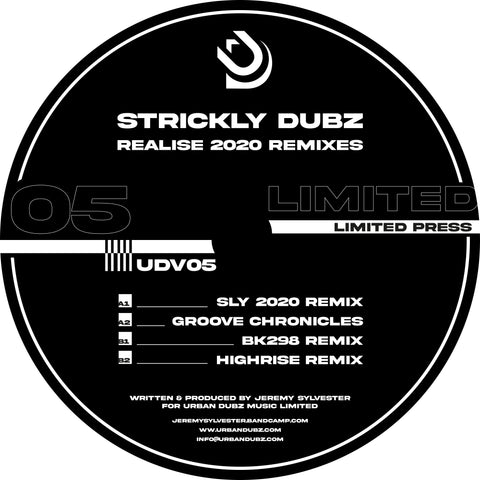 *PRE-ORDER* Strickly Dubz 'Realise (2020 Remixes)' 12""