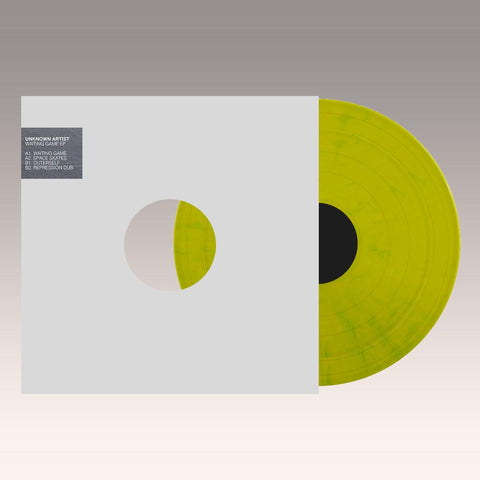 *PRE-ORDER* Unknown 'Waiting Game EP' [fluo green vinyl / stickered sleeve] 12""
