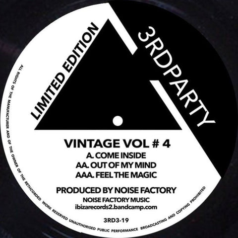 Noise Factory 'Vintage Vol #4' 12""