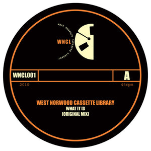 West Norwood Cassette Library 'What It Is' 10""