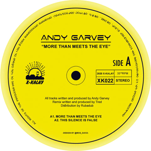 *PRE-ORDER* Andy Garvey 'More Than Meets The Eye' 12""