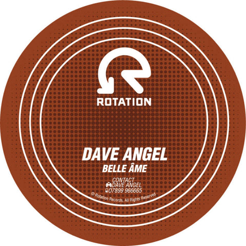 Dave Angel 'Belle Ame / Let The Sun In' 12""