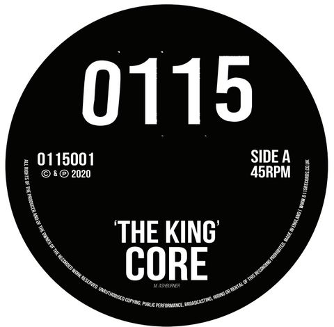 Core 'The King' (Incl Gantz Remix) 12""