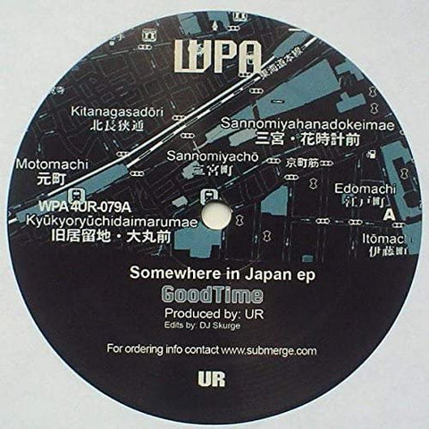 UR 'Somewhere In Japan' 12""